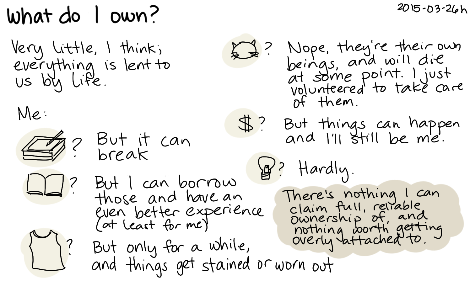 2015-03-26b What do I own -- index card #philosophy #stoicism.png