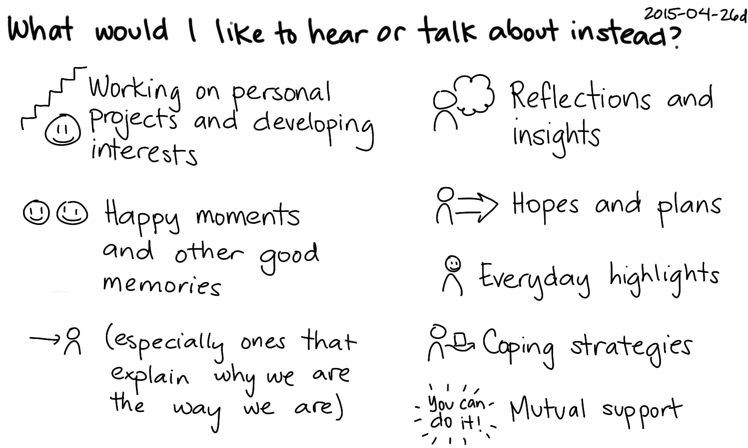 2015-04-26d What would I like to hear or talk about instead -- index card #conversation.png