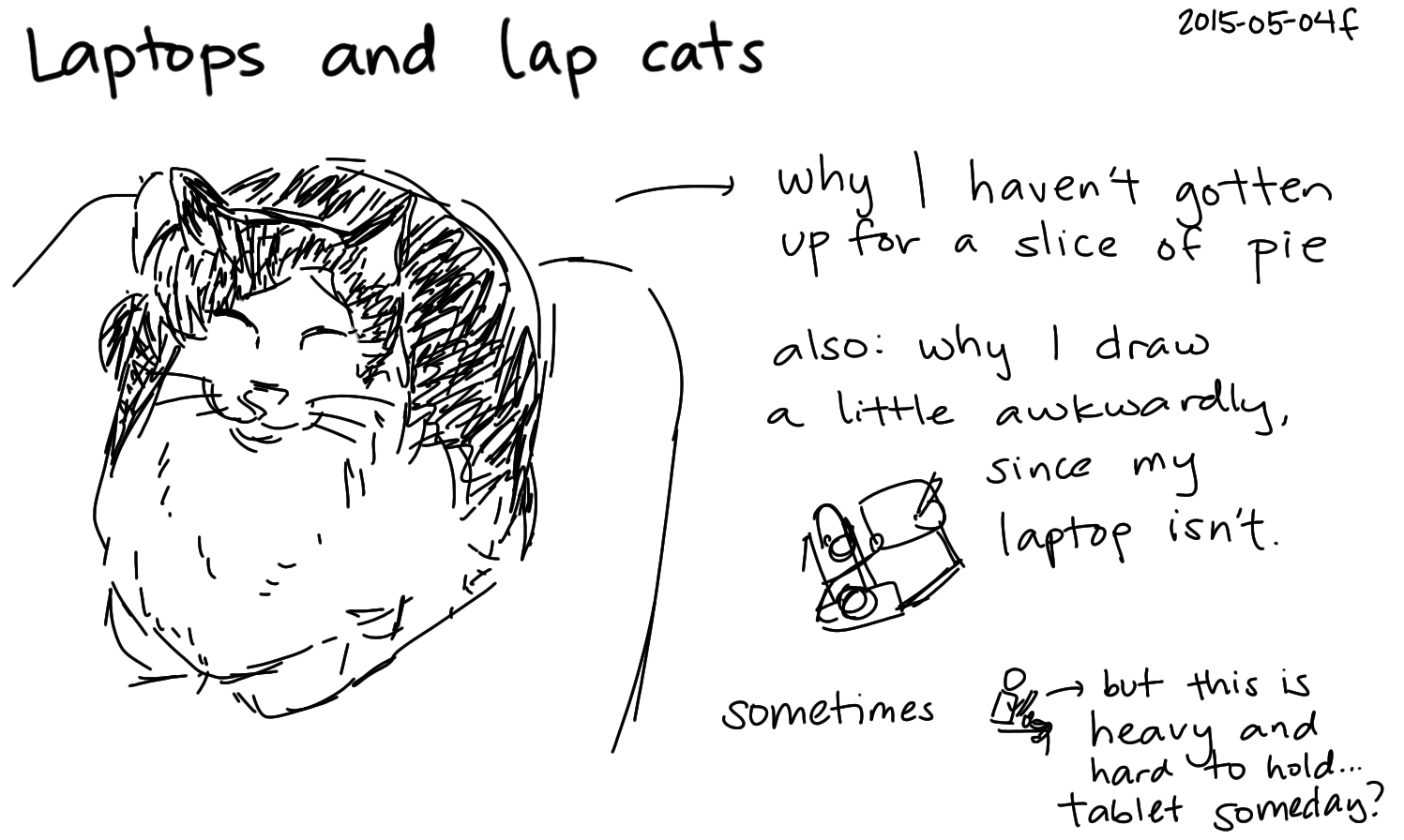 2015-05-04f Laptops and lap cats -- index card #life #cats.png