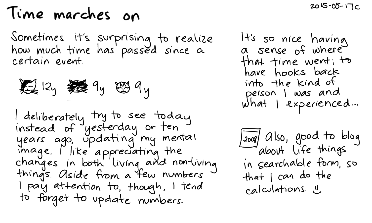 2015-05-17c Time marches on -- index card #time.png