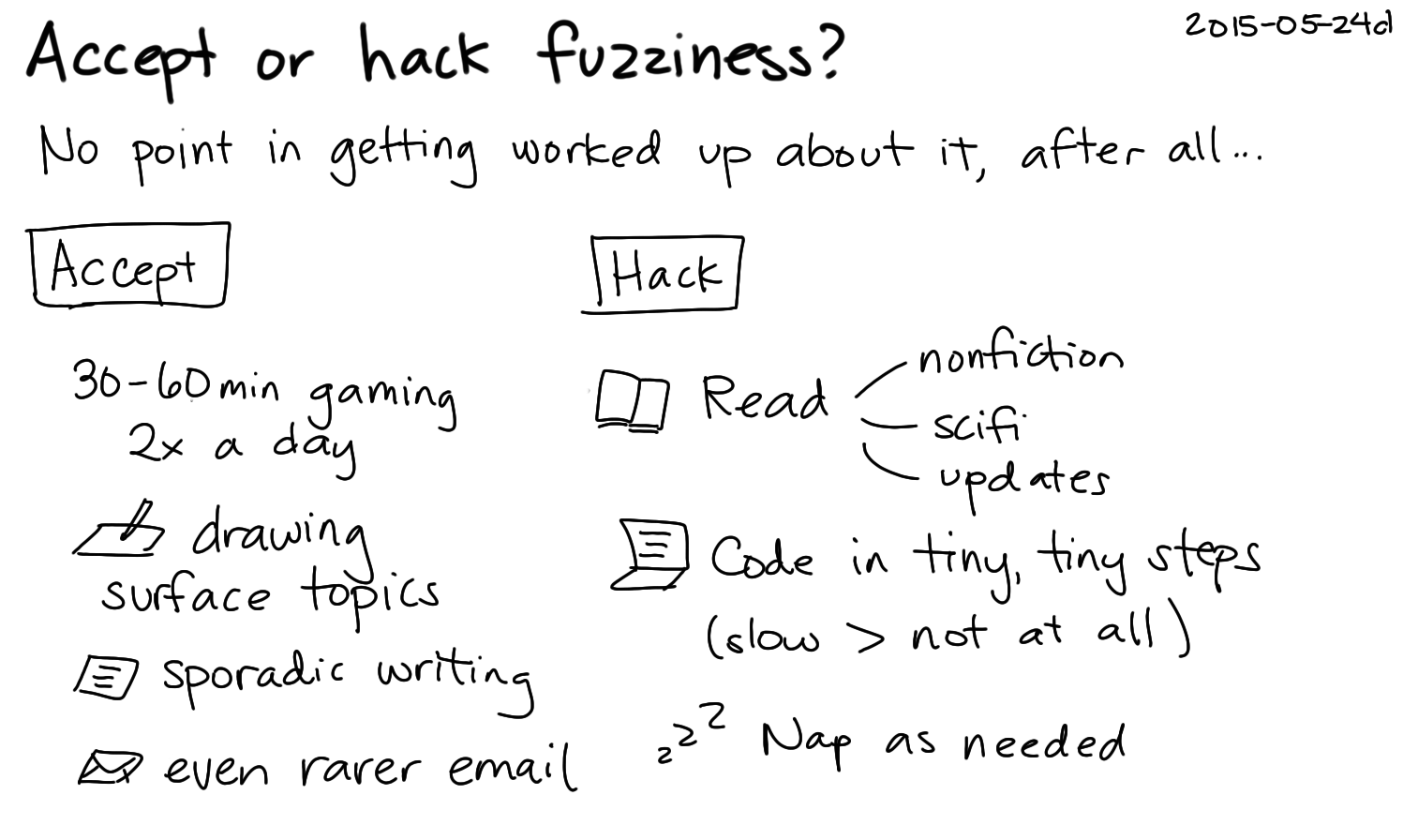 2015-05-24d Accept or hack fuzziness -- index card #fuzzy.png