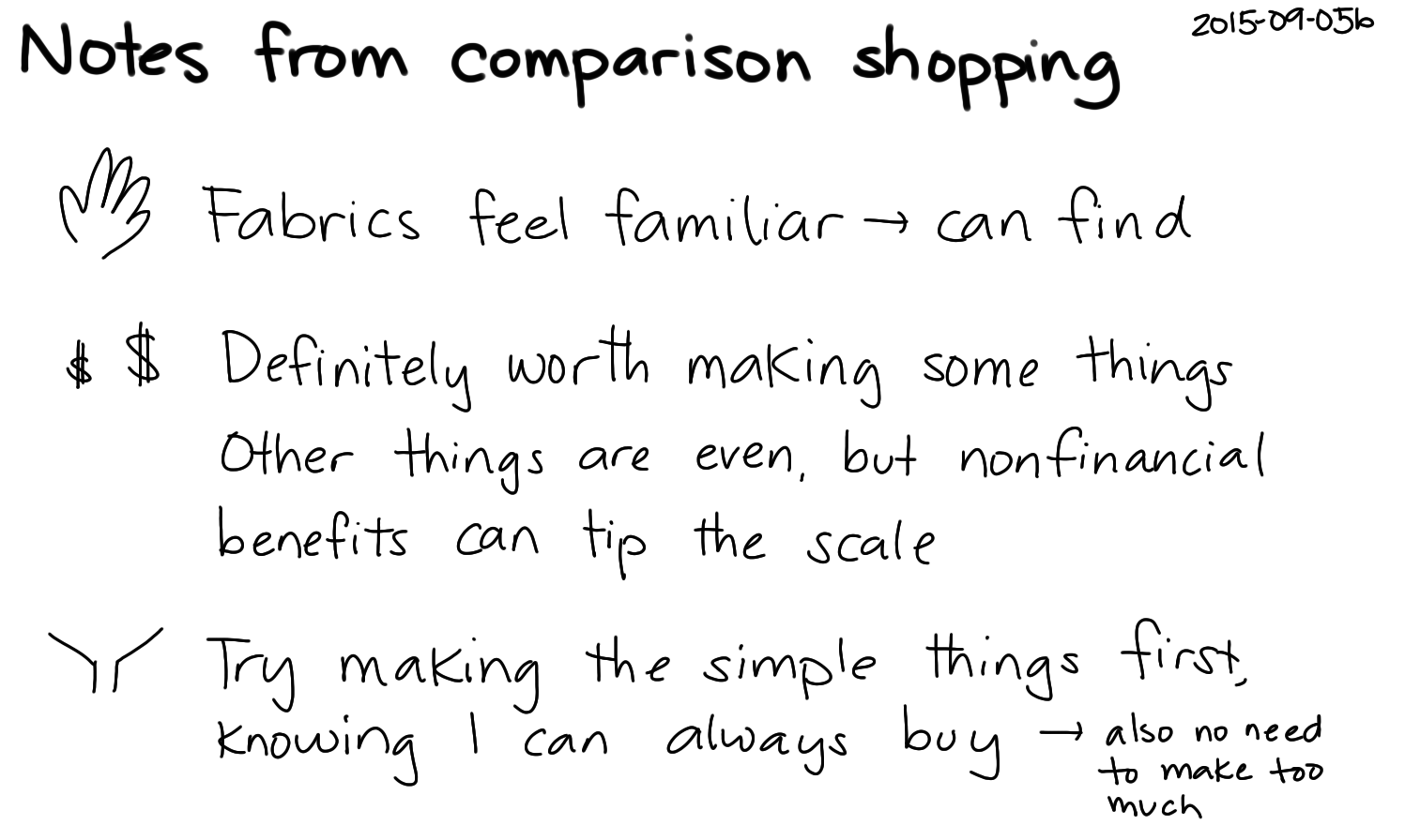 2015-09-05b Notes from comparison shopping -- index card #sewing.png