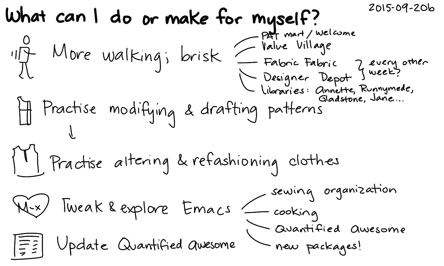 2015-09-20b What can I do or make for myself -- index card #life #routines.png