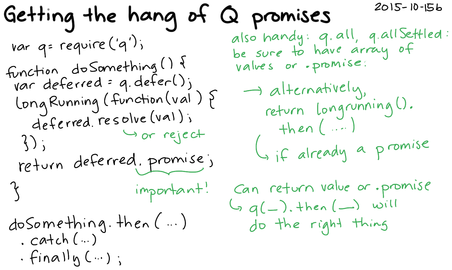 2015-10-15b Getting the hang of Q promises -- index card #javascript #programming #async.png