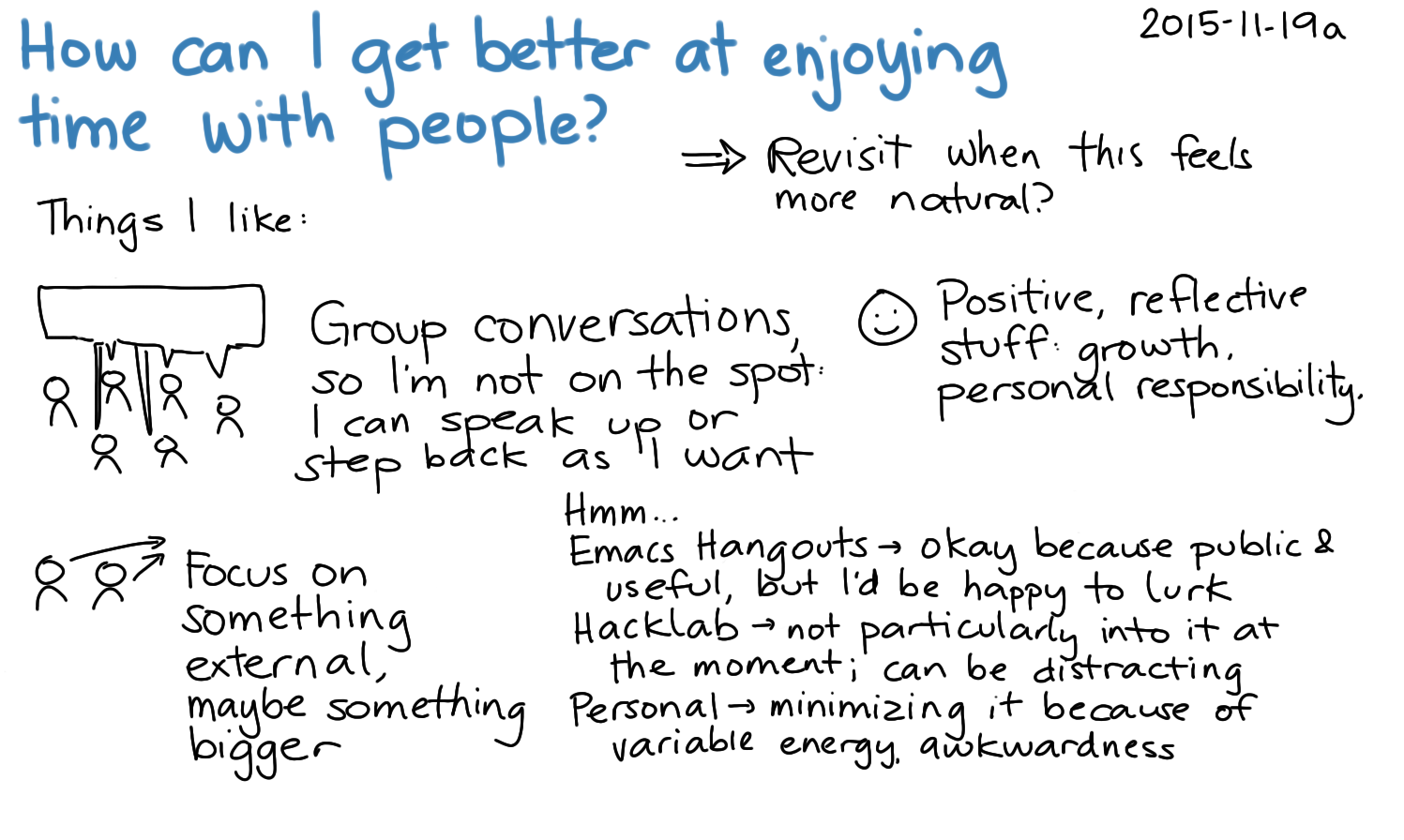 2015-11-19a How can I get better at enjoying time with people -- index card #introversion #connecting.png