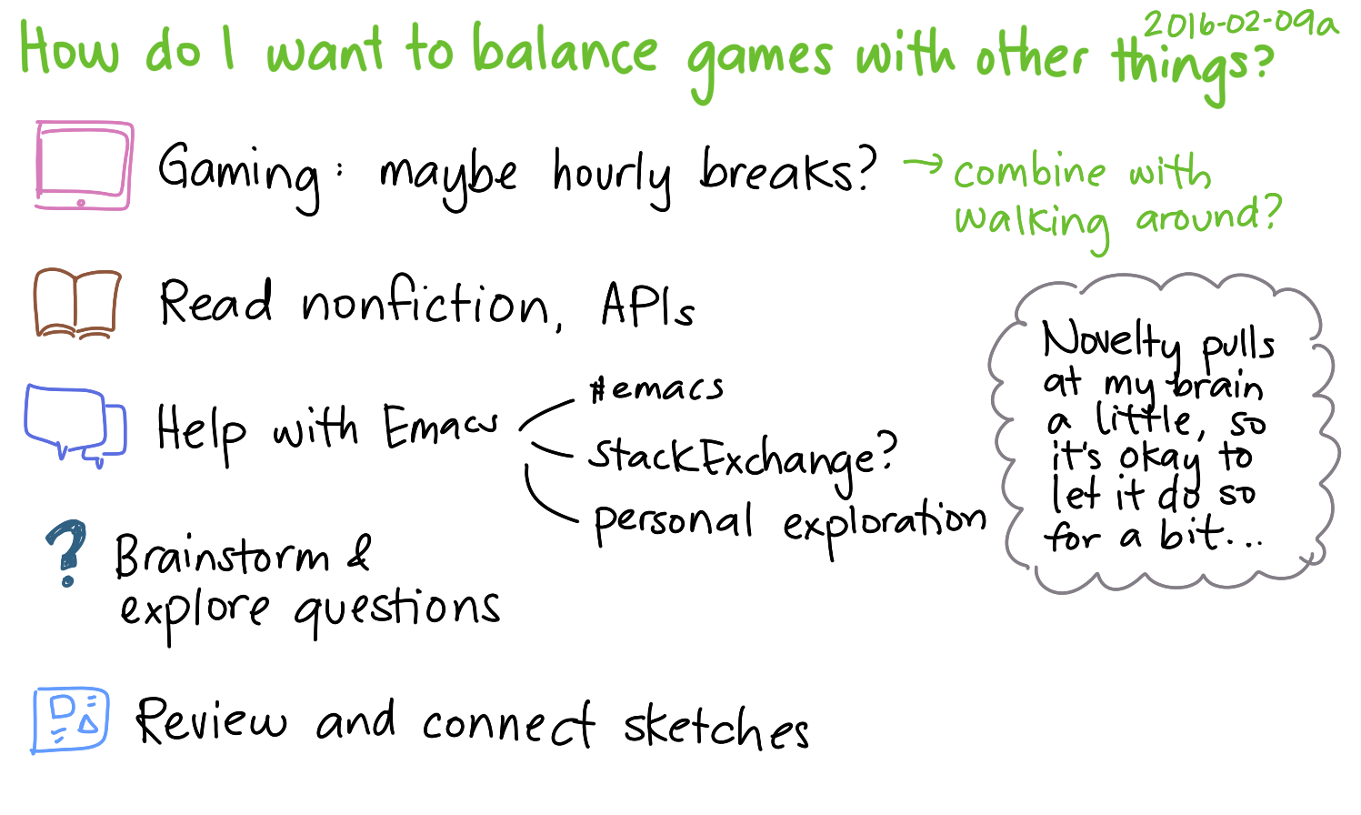 2016-02-09a How do I want to balance games with other things -- index card #gaming #balance.png