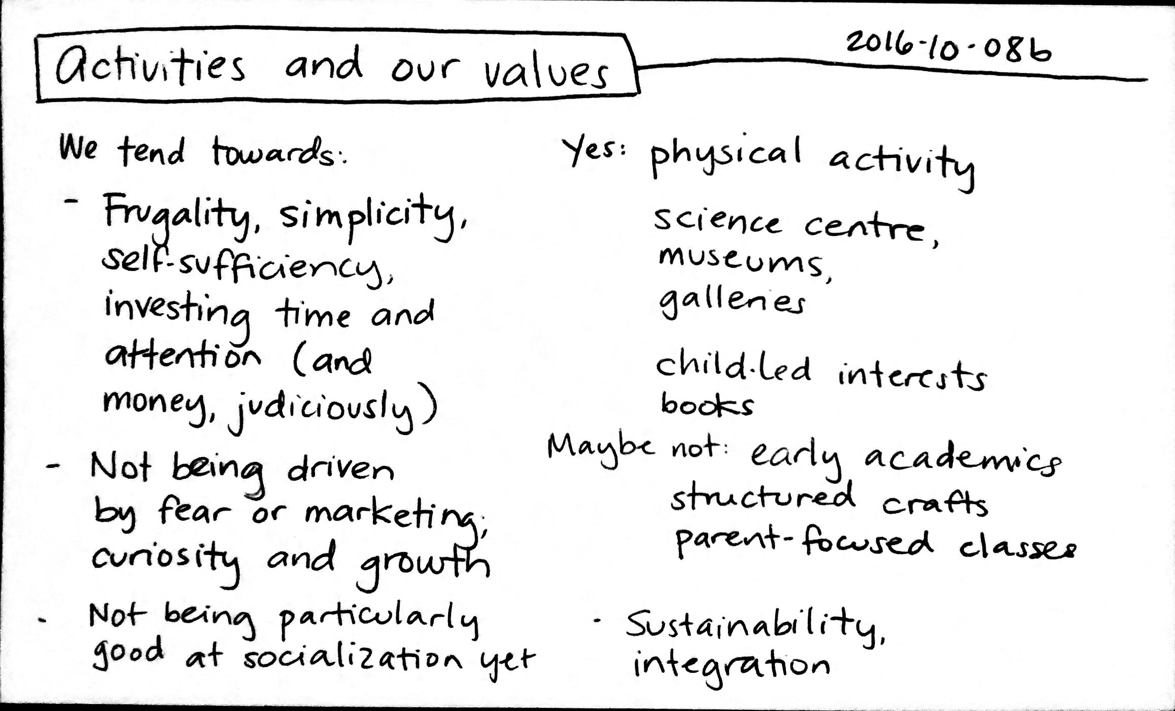 2016-10-08b Activities and our values #activities #early-learning #parenting #values #decision.jpg