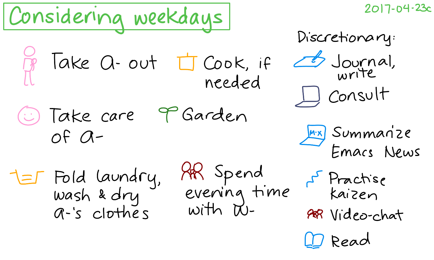 2017-04-23c Considering weekdays #time #routines.png