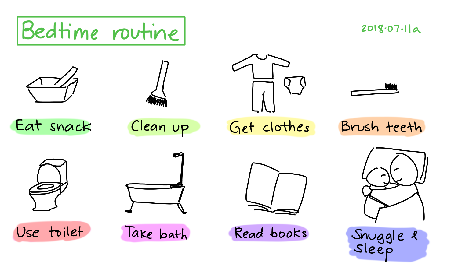 2018-07-11a Bedtime routine #routine #household.png