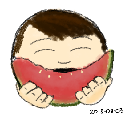 2018-08-03a Watermelon #sketch #moment.png