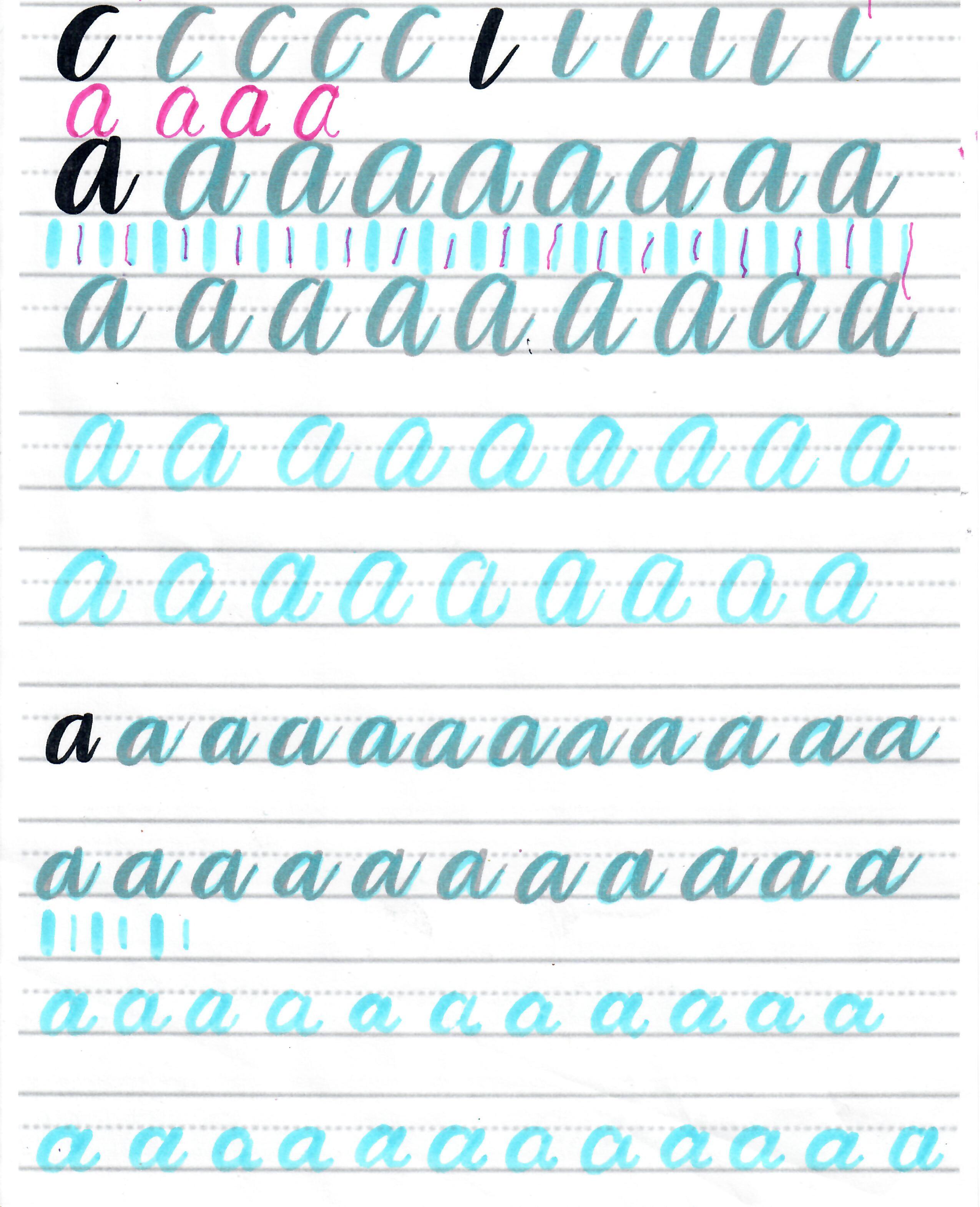 2021-08-19 Brush lettering - A a #lettering.jpg