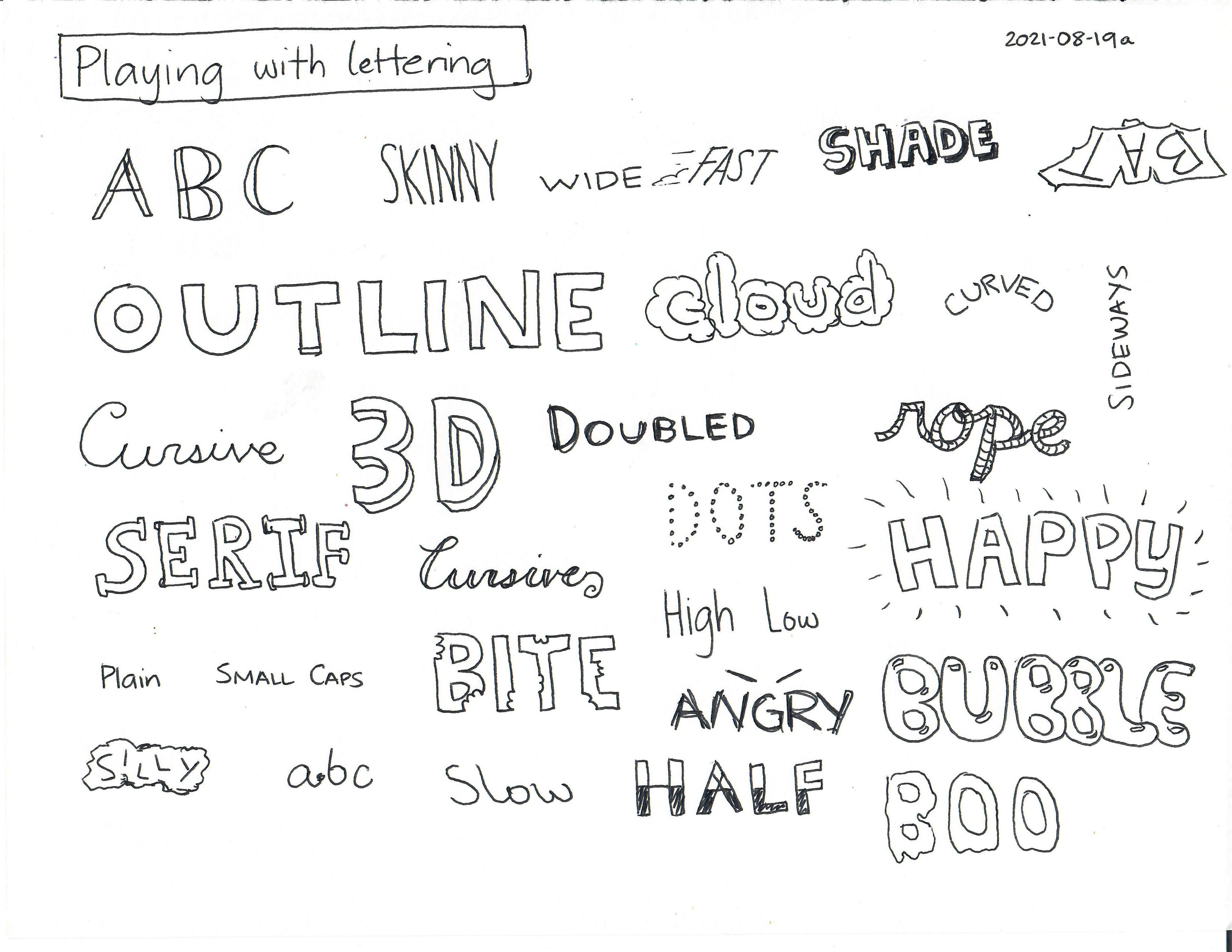 2021-08-19a Playing with lettering #lettering #sketchnoting #drawing.jpg