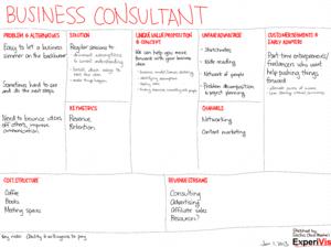 2013-01-01 lean canvasses - business consultant