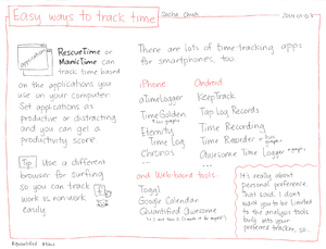 2014-01-03 Easy ways to track time