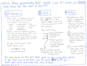 2014-05-14 Which three productivity tools would I use if I could use only those for the rest of my life #emacs #productivity.png
