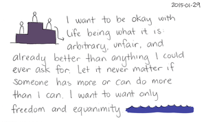 2015-01-29 Being okay with unfair -- index card #stoicism