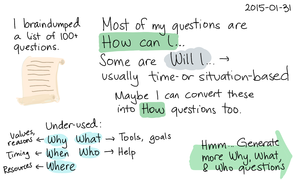 2015-01-31 Most of my questions are 'How can I...' -- index card #learning #question.png