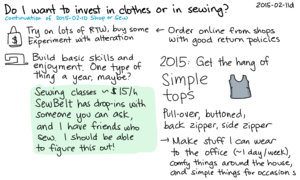 2015-02-11d Do I want to invest in clothes or in sewing -- index card #sewing #clothing -- ref 2015-02-10.png