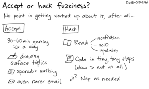 2015-05-24d Accept or hack fuzziness -- index card #fuzzy