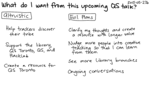 2015-05-27b What do I want from this upcoming QS talk -- index card #speaking #plans.png