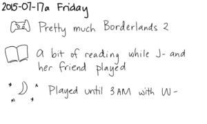 2015-07-17a Friday -- index card #journal