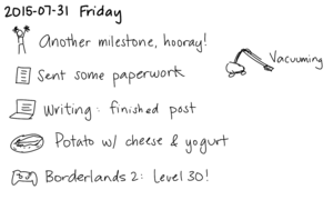 2015-07-31a Friday -- index card #journal