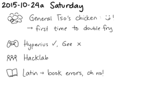 2015-10-24a Saturday -- index card #journal