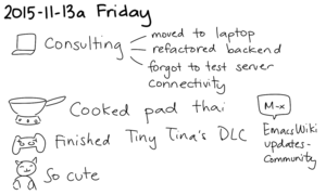 2015-11-13a Friday -- index card #journal