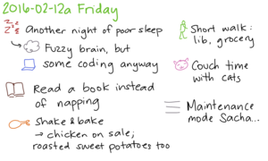 2016-02-12a Friday -- index card #journal