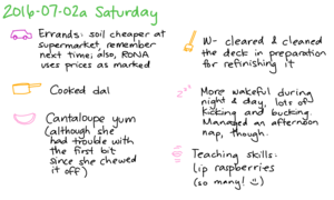 2016-07-02a Saturday -- index card #journal