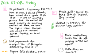 2016-07-08a Friday -- index card #journal