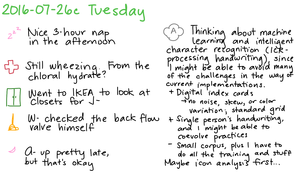 2016-07-26c Tuesday -- index card #journal