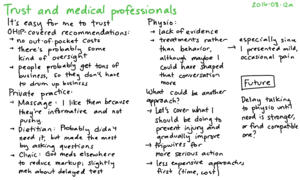 2016-08-12a Trust and medical professionals -- index card #trust #decision #health.png