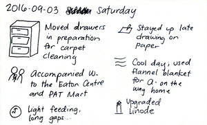 2016-09-03 Saturday -- index card #daily #journal.png