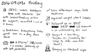 2016-09-09d Friday #journal #daily