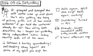 2016-09-10a Saturday #journal #daily