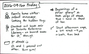 2016-09-16a Friday #daily #journal
