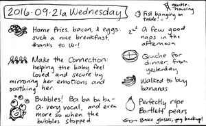 2016-09-21a Wednesday #daily #journal