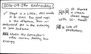 2016-09-28a Wednesday #daily #journal