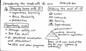 2016-09-30c Considering the trade-offs for care #parenting #childcare #decision #tradeoffs.jpg