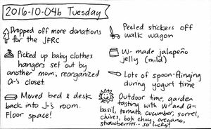 2016-10-04b Tuesday #daily #journal