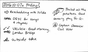 2016-10-07a Friday #daily #journal