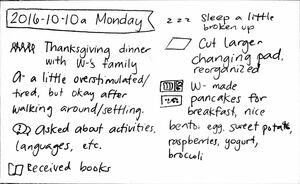 2016-10-10a Monday #daily #journal.jpg