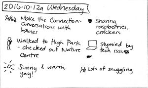 2016-10-12a Wednesday #daily #journal