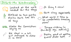 2016-10-19a Wednesday #daily #journal