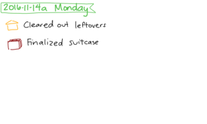 2016-11-14a Monday #daily #journal