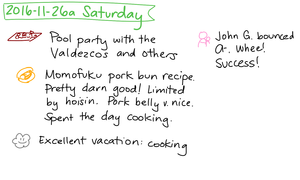 2016-11-26a Saturday #daily #journal