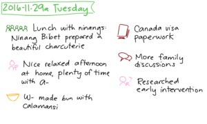 2016-11-29a Tuesday #daily #journal