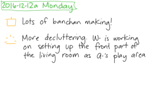 2016-12-12a Monday #daily #journal