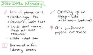 2016-12-19a Monday #daily #journal